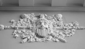 Bas-relief. Royalty Free Stock Image
