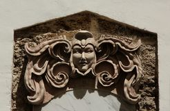 Bas Relief. A Bas Relief on the outside of a building in Cadiz, Spain Stock Photography
