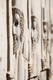Bas-relief of Persian soldiers Stock Images