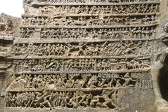 Bas-relief picture Stock Photos