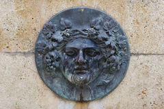 Bas-relief romain Photo stock