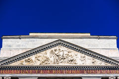 Bas-relief of Saint Michael's Castle Stock Images