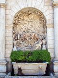 Bas Relief Sculpture, Tivoli, Italy Royalty Free Stock Photography