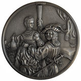 Bas-relief Self-Portrait with Saskia Royalty Free Stock Images