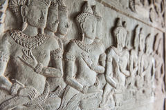 Bas-relief of Shiva Royalty Free Stock Photography