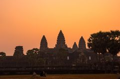 A Bas-Relief Statue of Khmer Culture. In Angkor Wat, Cambodia Stock Photos