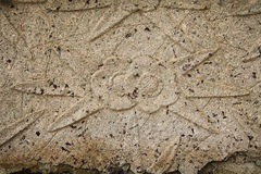 Bas-relief on the stone Stock Images