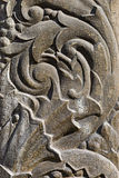 The bas-relief on the stone Stock Image
