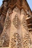 Bas-Relief tailandese antico Fotografie Stock Libere da Diritti
