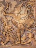 Bas-relief vieux Image libre de droits