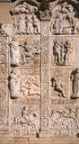 Bas-Reliefs, Basilica of San Zeno - Verona - 12th century Royalty Free Stock Images