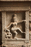 Bas reliefs in Hindu temple Stock Photo