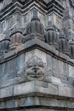 Bas-reliefs of Prambanan temple, Java, Indonesia Stock Photography