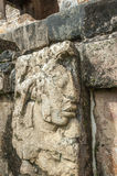 Bas-reliefs at Ruins of Palenque, Mexico Royalty Free Stock Photos