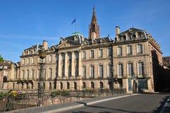Bas Rhin, a cidade pitoresca de Strasbourg em Alsácia fotografia de stock royalty free