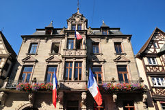 Bas Rhin, de schilderachtige stad van Saverne in de Elzas Stock Afbeelding