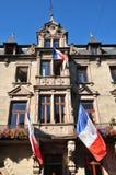 Bas Rhin, de schilderachtige stad van Saverne in de Elzas Royalty-vrije Stock Foto