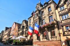 Bas Rhin, de schilderachtige stad van Saverne in de Elzas Stock Foto