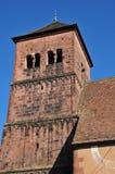 Bas Rhin den pittoreska staden av Saverne i Alsace Arkivfoton