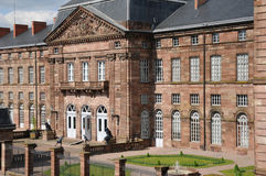 Bas Rhin, Le Palais des Rohan in Saverne Royalty Free Stock Photography