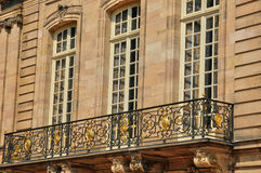 Bas Rhin, Le Palais Rohan in Strasbourg Stock Photos
