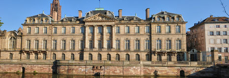 Bas Rhin, Le Palais Rohan in Strasbourg Royalty Free Stock Photos