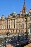 Bas Rhin, Le Palais Rohan in Strasbourg Royalty Free Stock Image