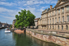 Bas Rhin, Le Palais Rohan in Strasbourg Stock Images