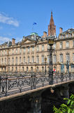 Bas Rhin, Le Palais Rohan in Strasbourg Royalty Free Stock Photo