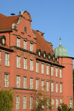 Bas Rhin, old building in Strasbourg Stock Photography
