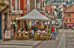 Bas rhin, the picturesque city of Saverne in alsace Stock Photography