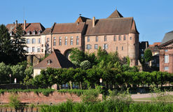 Bas Rhin, the picturesque city of Saverne in Alsace Royalty Free Stock Photography