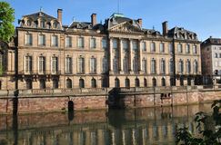 Bas Rhin, the picturesque city of Strasbourg in Alsace Royalty Free Stock Photography