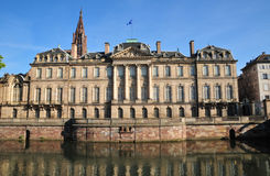 Bas Rhin, the picturesque city of Strasbourg in Alsace Royalty Free Stock Photo