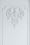 Bas stucco mold on the white wall Royalty Free Stock Image