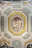 Bas ulga obrazy w suficie Watykan Obraz Stock
