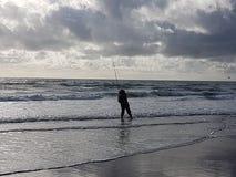 Bas visserij Royalty-vrije Stock Fotografie