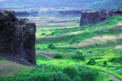 Basalt Castles Royalty Free Stock Photography