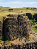 Basalt cliff Stock Photo