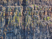Basalt cliff Stock Photography