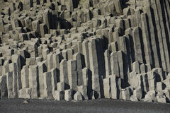 Basalt Coloumn Formations Royalty Free Stock Image
