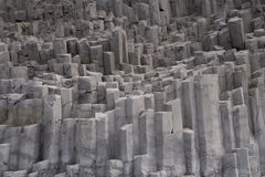 Basalt coloumns, Iceland Royalty Free Stock Photo