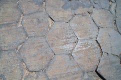 Basalt Column Ends Stock Image