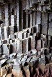 Basalt columns Royalty Free Stock Image