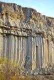 Basalt columns Stock Photography