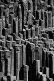 Basalt columns in Iceland, near Vik. Basalt columns in Iceland, near Vik Royalty Free Stock Images