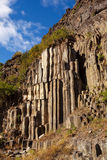 Basalt columns Royalty Free Stock Photos