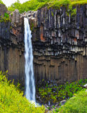 The  basalt faces Royalty Free Stock Photos