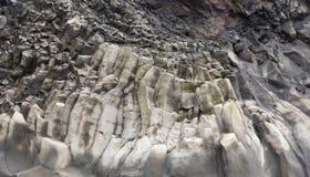 Basalt formations Reynisfjara Stock Photos