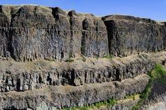 Basalt landform Stock Image